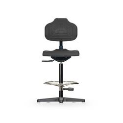 Židle ECONOLINE WS 2211, polyuretanová, s kluzáky, vysoká