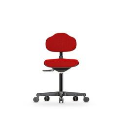 Židle ECONOLINE WS 2320, polstrovaná, s kolečky