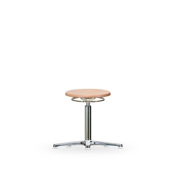 Stolička WS 3010, dřevěná, s kluzáky