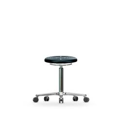 Stolička WS 3020 PU, polyuretanová, s kolečky