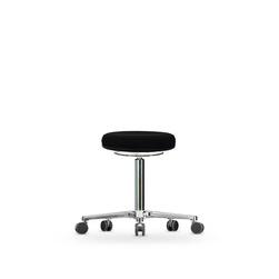 Stolička WS 3320, polstrovaná, s kolečky