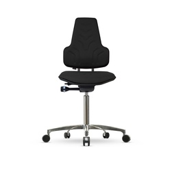 Židle WERKSTAR WS 8320, polstrovaná, s kolečky